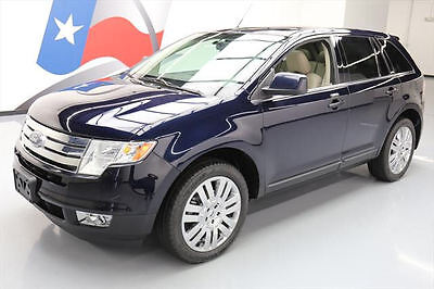 2010 Ford Edge Limited Sport Utility 4-Door 2010 FORD EDGE LIMITED HDT LEATHER PANO ROOF NAV 58K MI #A66337 Texas Direct