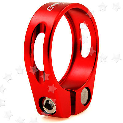 34.9Mm Bicycle Bike Cycling Mountain Clamp Alloy Seat Post Red