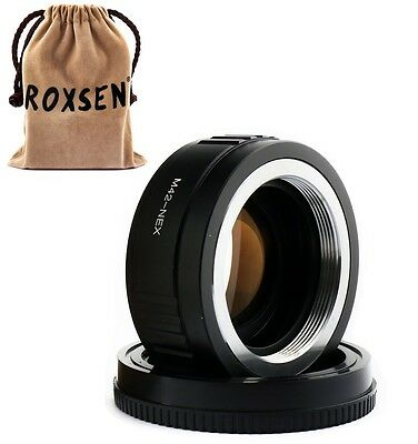 Focal Reducer Speed Booster Adapter M42 mount lens to Sony NEX E 7 A6000