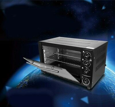 New Commercial 35L High-capacity Multi-function Stainless Steel Electric Oven*