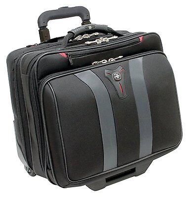 Wenger 600659 GRANADA 17-inch Wheeled Laptop Case with overnight compartment