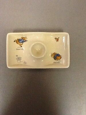 Peter Rabbit Wedgwood Egg Cup Plate