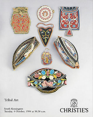 TRIBAL ART: Katalog Christie's London S.K. 94