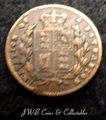Tiny Queen Victoria Model Sovereign Coin By Lauer Nurnberg Toy Money Ref - T/M