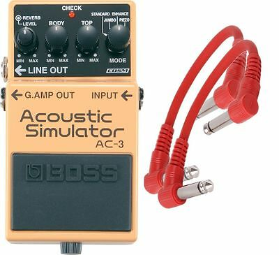 Boss AC3 Acoustic Sim Electric Guitar Effects Pedal AC 3