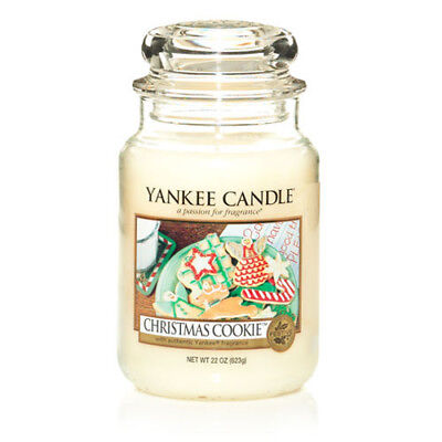 Yankee Candle Large Jar Scented Candle - Christmas Cookie