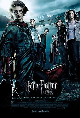 Harry Potter And The Goblet Of Fire Laminated A4 Mini Movie Poster Print