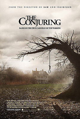 The Conjuring  Laminated Mini Poster Print Horror Style 1