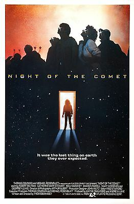Night Of The Comet  Laminated Mini Movie Poster Print A4