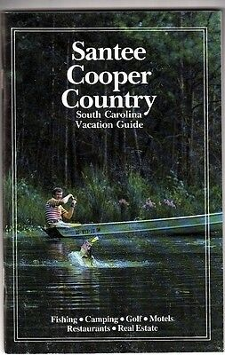 Santee Cooper Country South Carolina Vacation Guide 1985 Vintage Guide