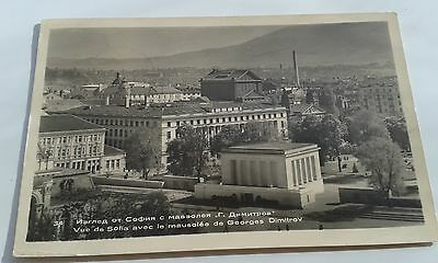 1955 Used Postcard Sofia Bulgaria Mausoleum Of George Dimitrov