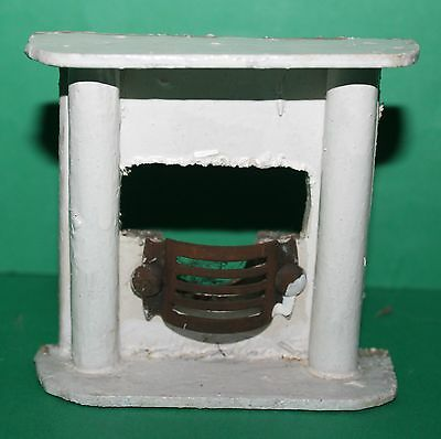 Vintage Dolls House Lines Triang Fireplace #3
