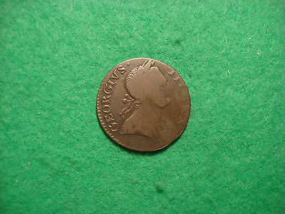 1775? George Iii Half Penny Colonial Possible Evasion?  D606