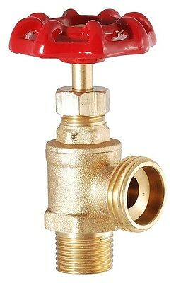 Hose Heavy Duty Brass Boiler Drain Valve by LDR Industries