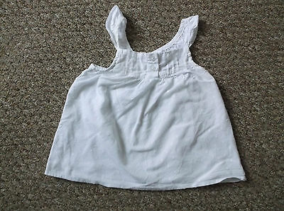 Girls young dimension White top age 12-18 Month