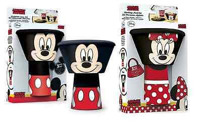 Childrens Stacking Cup/mug Bowl & Plate Meal Dinner Set Mickey & Minnie Mouse