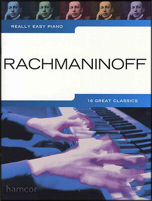 Really Easy Piano Rachmaninoff Classical Sheet Music Book