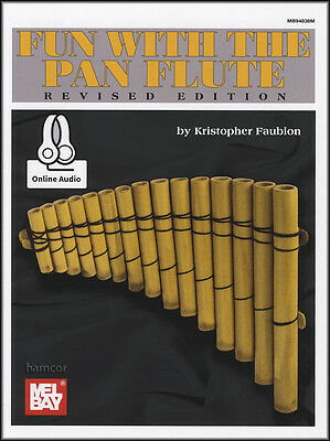 Fun with the Pan Flute Sheet Music Book with Audio Download Code