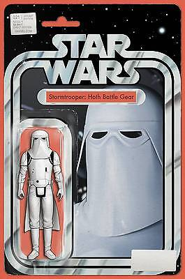 Star Wars #21 Action Figure Variant Near Mint First Print Bagged And Boarded