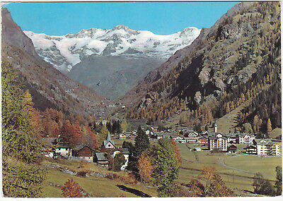 Gressoney St. Jean - Aosta - Panorama - Viagg. 1967 -99987-