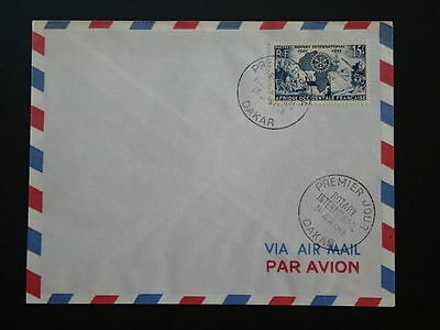 Rotary International 1955 FDC French Occidental Africa 66774