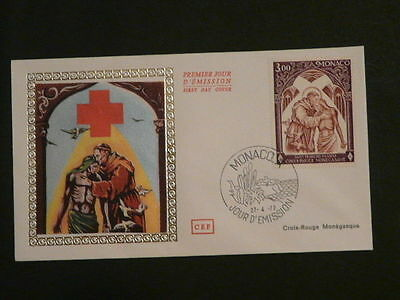 religion St Francois Assisi Red Cross FDC Monaco 42092
