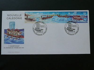 rowing race FDC 1996 New Caledonia 64014