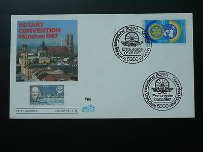 rotary convention Munchen 1997 FDC Germany 62376