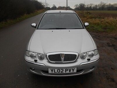 2002 Rover 45 Td Impression S2 Silver