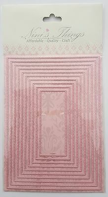 Nini's Things Stitched borders - Rectangles