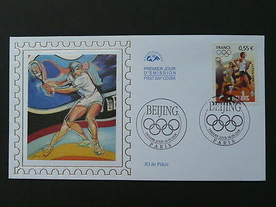 olympic games Beijing 2008 tennis FDC 2008/65