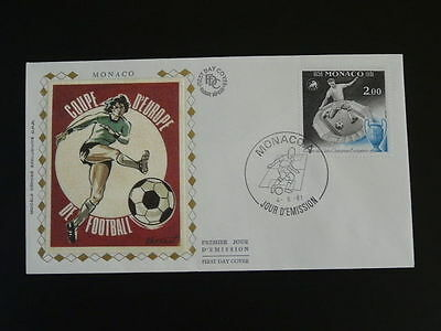 football cup of Europe 1981 FDC Monaco 56325