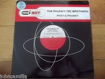 "The Phunky-Tec Brothers - Phat & Phunky 12"" Record/vinyl - Mo'bizz - Mbzz 034-12"