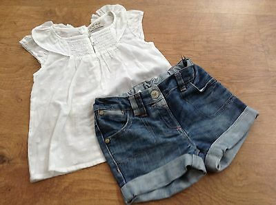 ***100% Next ***girls Small Spring / Summer   Bundle/outfits  4-5Yrs Top Shorts