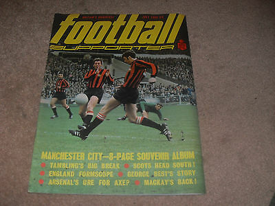 Football Supporter Magazine - July 1969 - Manchester City