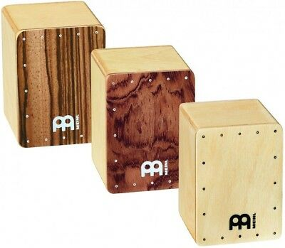 Meinl Percussion SH50-SET Mini Cajon Shaker Set, 3 Piece