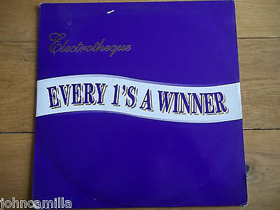 """Electrotheque - Every 1's A Winner 12"""" Record / Vinyl - Fresh - Frsht74"""
