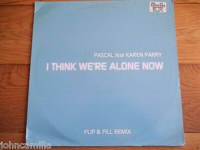 "Pascal Feat Karen Parry - I Think We;re Alone Now 12"" Record - 12Djglobe267"
