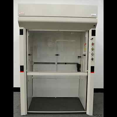 Fisher Hamilton 5'  Concept Thermo Science Chemical Walk In Floor Fume Hood ...