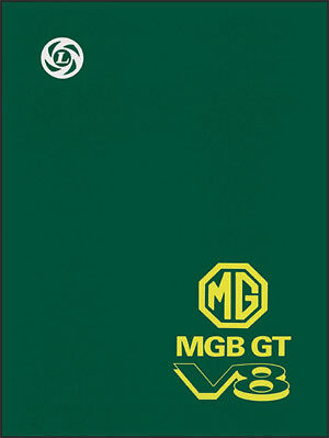MGB GT V8 Original Factory Workshop Manual Supplement MG66WH NEW