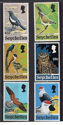 Seychelles (847) 1972 Rare Seychelles Birds set Lightly mounted Mint Sg308-13