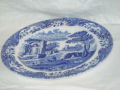 Spode Blue Italian Large 30cm BUFFET SERVING PLATE CHARGER NEW Made in England