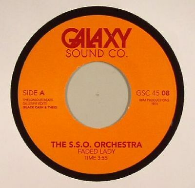 """SSO ORCHESTRA, The - Faded Lady (edits) - Vinyl (7"""")"""