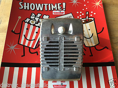 Single New Eprad Drive-In Movie Car Show Prop Speaker Casting With White Knob