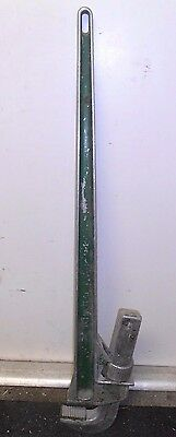 "SCHICK (APPROX. 42"" LONG) Aluminum. PIPE WRENCH"