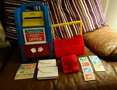 Vintage Fisher Price Post Office