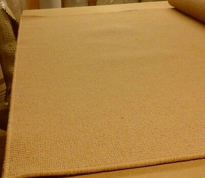 100% WOOL LARGE WHIPPED RUG/CARPET 176cm x 260cm LOVELY QUALITY