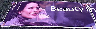 2003 Andie McDowell Got Milk Truck Advertising Poster Sticker 12 Feet Long