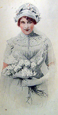 1911 Color Magazine Print Ad - Shredded Wheat – Lovely Victorian Bride