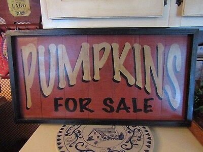 Large Pumpkin Patch Sign  - Very Nice